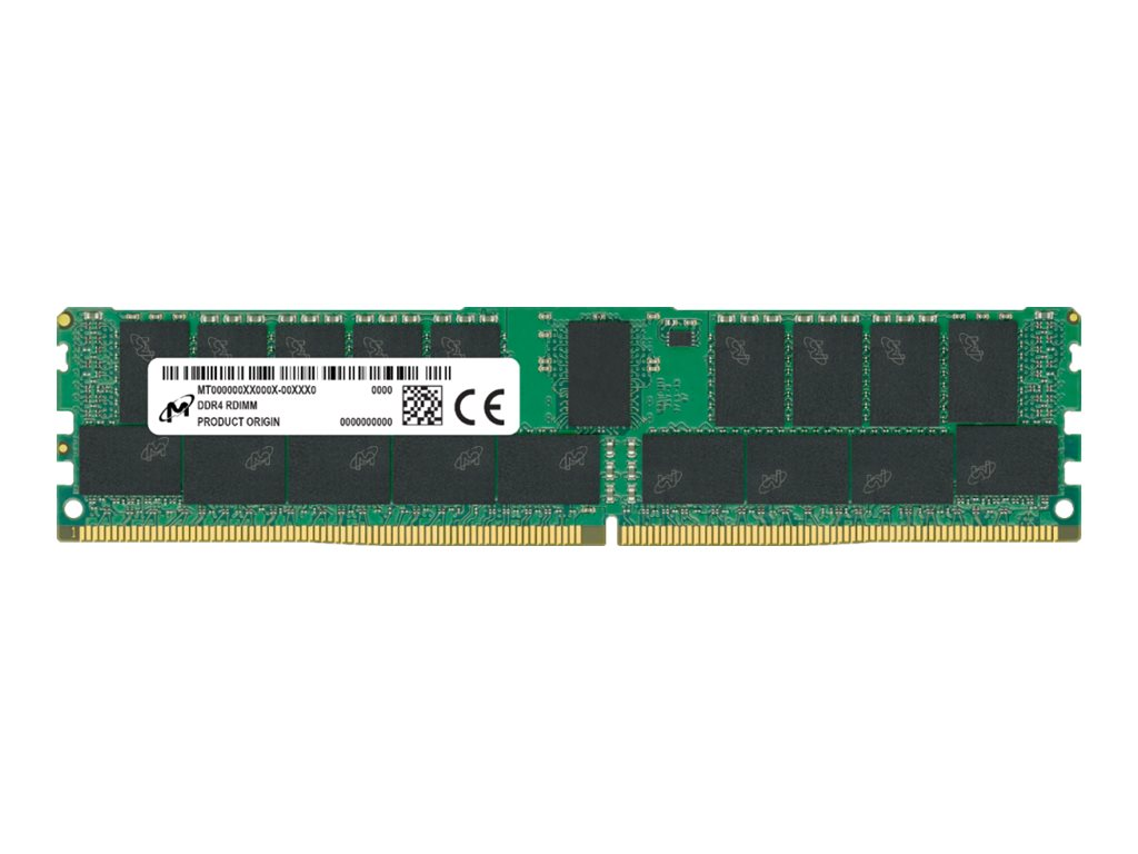 Micron - DDR4 - 16 GB - DIMM 288-PIN - 3200 MHz / PC4-25600 - CL22