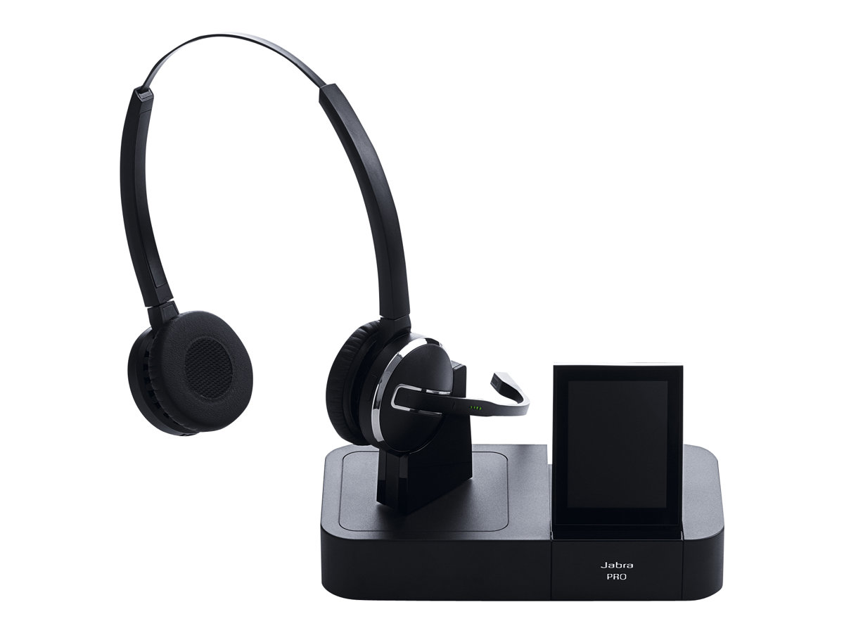 jabra pro 9460 duo headset on ear dect kabellos. Black Bedroom Furniture Sets. Home Design Ideas