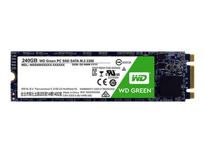 WD Green PC SSD WDS120G2G0B - Solid-State-Disk - 120 GB - intern - M.2 2280 - SATA 6Gb/s