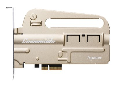 Apacer PT920 COMMANDO - Solid-State-Disk - 240 GB - intern - PCI Express 3.0 x4 (NVMe)