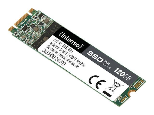 Intenso - Solid-State-Disk - 120 GB - intern - M.2 2280 - SATA 6Gb/s