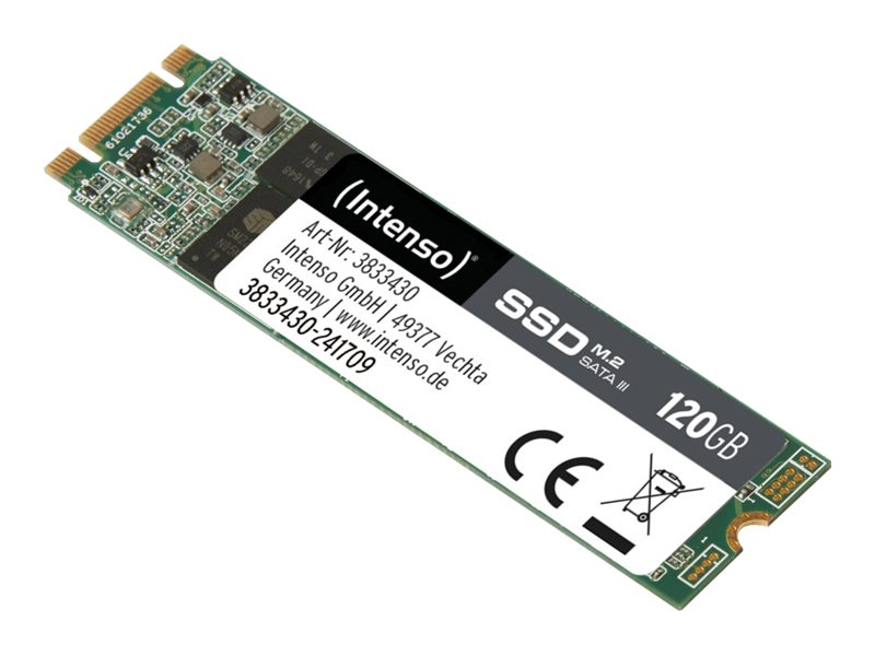 Intenso - Solid-State-Disk - 120 GB - intern - M.2 2280 - SATA 6Gb/s