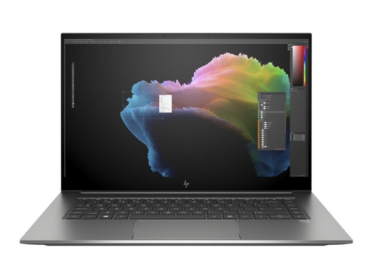 HP ZBook Studio G7 Mobile Workstation - Core i7 10850H / 2.7 GHz - Win 10 Pro 64-Bit - 16 GB RAM - 512 GB SSD SED, TCG Opal Encryption 2, NVMe, TLC - 39.6 cm (15.6