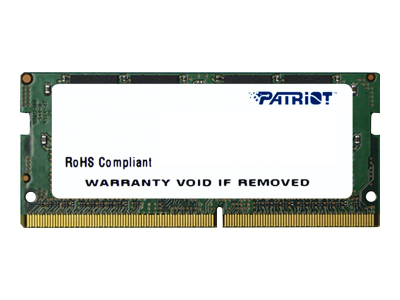 Patriot Signature Line - DDR4 - 16 GB - SO DIMM 260-PIN - 3200 MHz / PC4-25600 - CL22