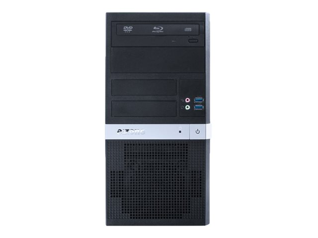 exone Business S 1301 - Micro Tower - Core i5 9400 / 2.9 GHz - RAM 8 GB - SSD 240 GB - DVD-Writer
