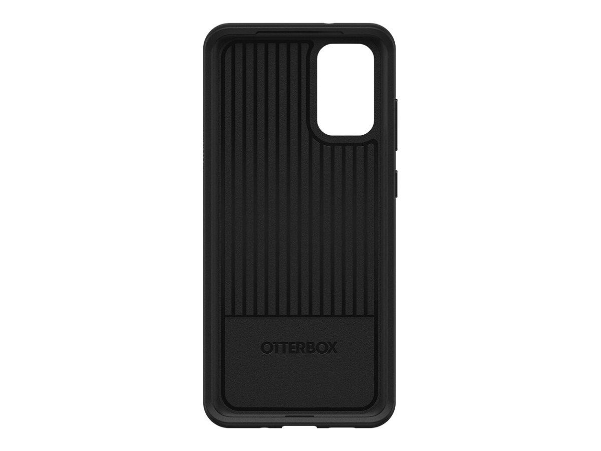 OtterBox Symmetry Series - Hintere Abdeckung für Mobiltelefon - Schwarz - für Samsung Galaxy S20, S20 5G
