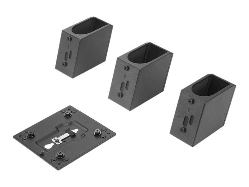 Lenovo Tiny/Nano Monitor Clamp II - Thin-Client-zu-Monitor-Halterung - Schwarz - für ThinkCentre TIO22, TIO24; ThinkCentre M70; M75; M75n IoT; M80; M90; ThinkVision P32, T22