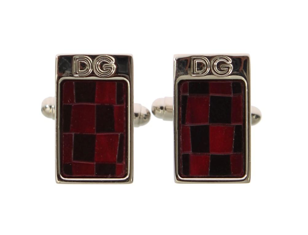 Silver Red Granite : Dolce gabbana silver brass black red