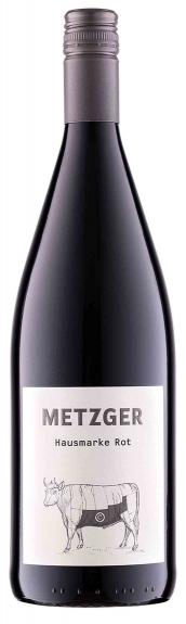 Weingut Metzger Hausmarke Rot QbA feinherb 2018 (1L)