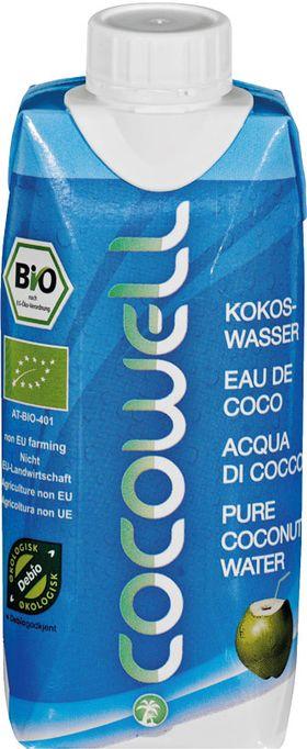Kokoswasser Bio* 330ml