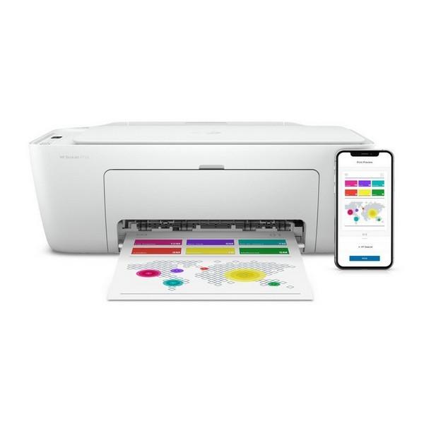 Multifunktionsdrucker HP Deskjet 2720 7.5 ppm WiFi Weiß