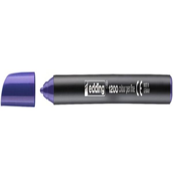 Filzstift Edding 1200/008 Violett (Refurbished A+)