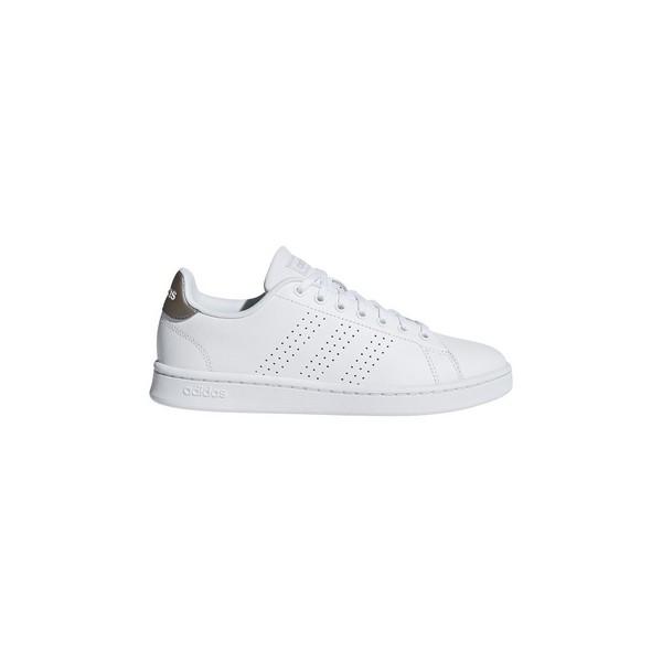 Casual Damenturnschuh Adidas Advantage Weiß
