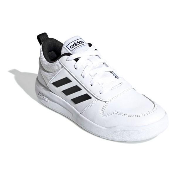 Jungen Sneaker Adidas VECTOR K Weiß Schwarz