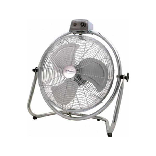 Grindų ventiliatorius Obergozo PWO1946 130W Nerūdijantis plienas