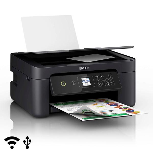 Multifunktionsdrucker Epson Expression Home XP-3100 15-33 ppm LCD WiFi Schwarz