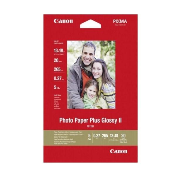 Glänzendes Photopapier Canon PP-201 (20 uds)