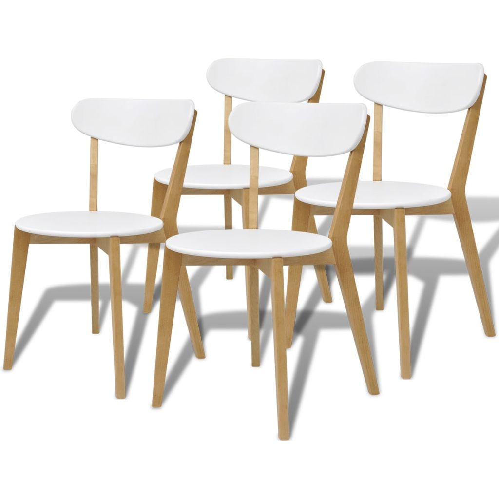 Entzückend Küchen Und Esszimmerstühle Foto Von Vidaxl Esszimmerstühle 4 Stk Mdf Birkenholz