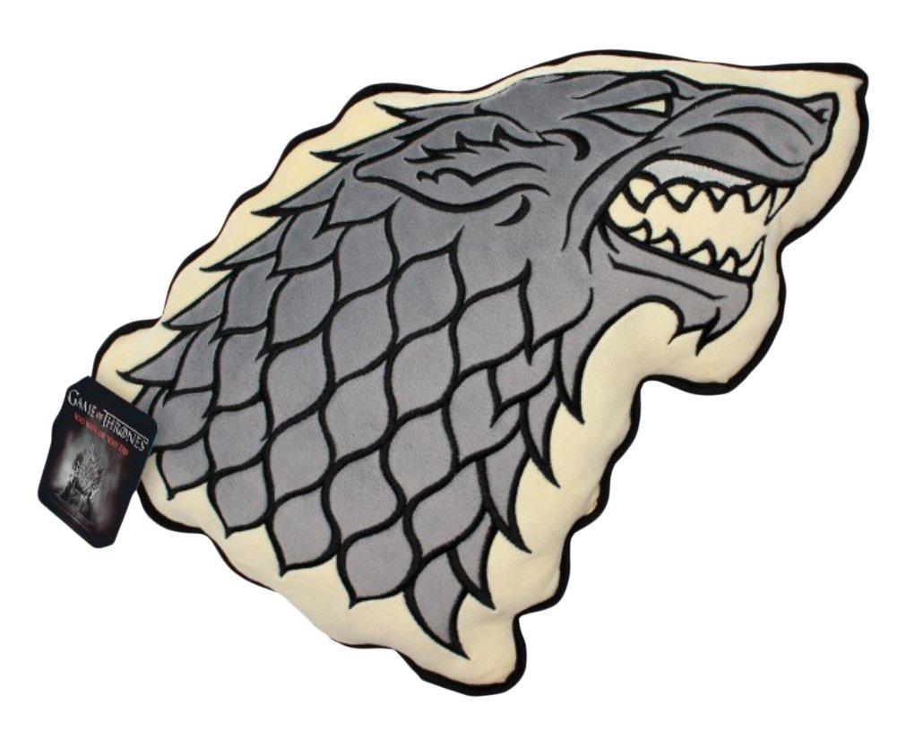 Game of Thrones - House of Stark Plüsch Deko Form Kissen