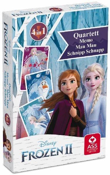 Disney Frozen 2 / Die Eiskönigin - Quartett & Aktionsspiel
