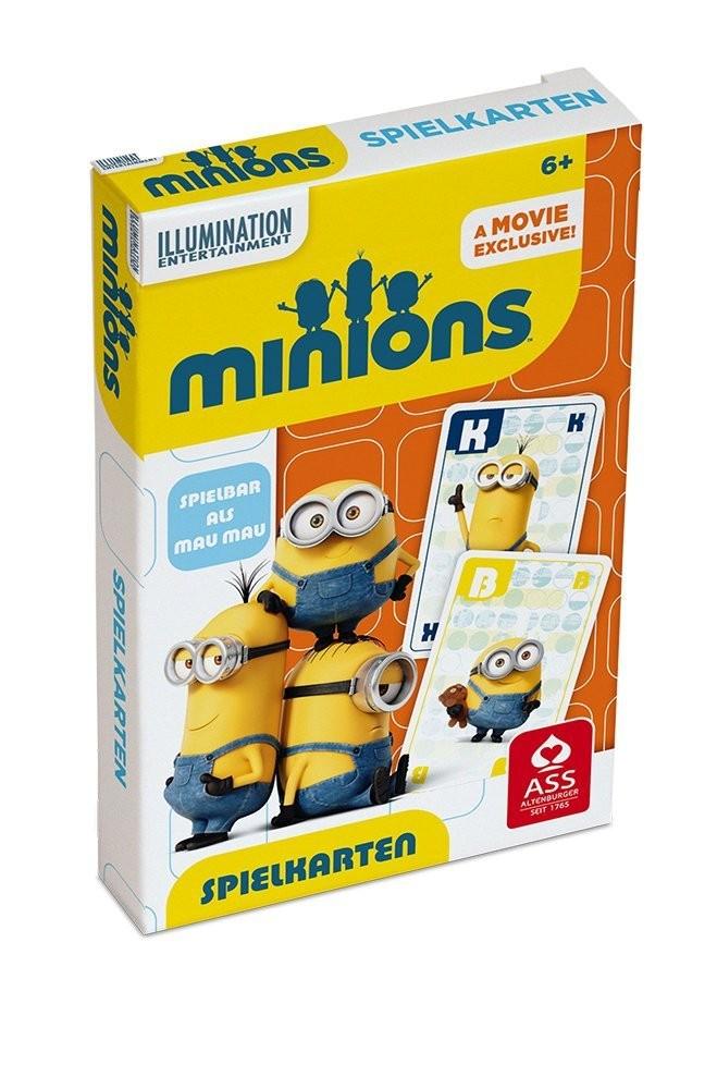 Minions - Spielkarten / Mau Mau